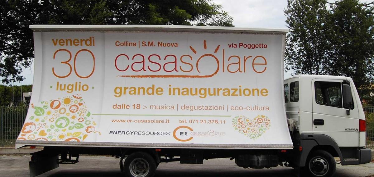 Pubblicita Autobus Affissioni Camion Vela