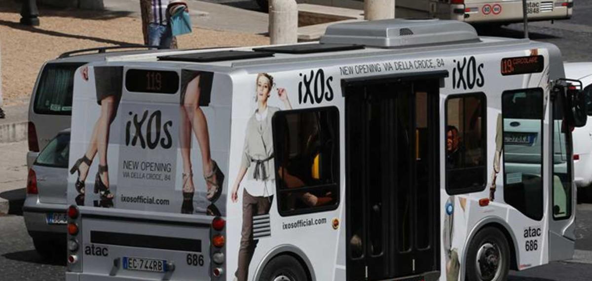 Pubblicita Autobus Decordinamica Autobus Decorati