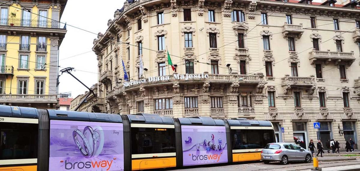 Pubblicita Autobus Decordinamica Tram Decorati