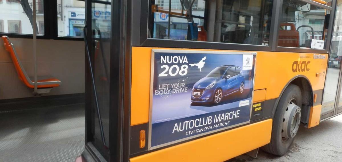 Pubblicita Autobus Dinamica Classica 120X70DX