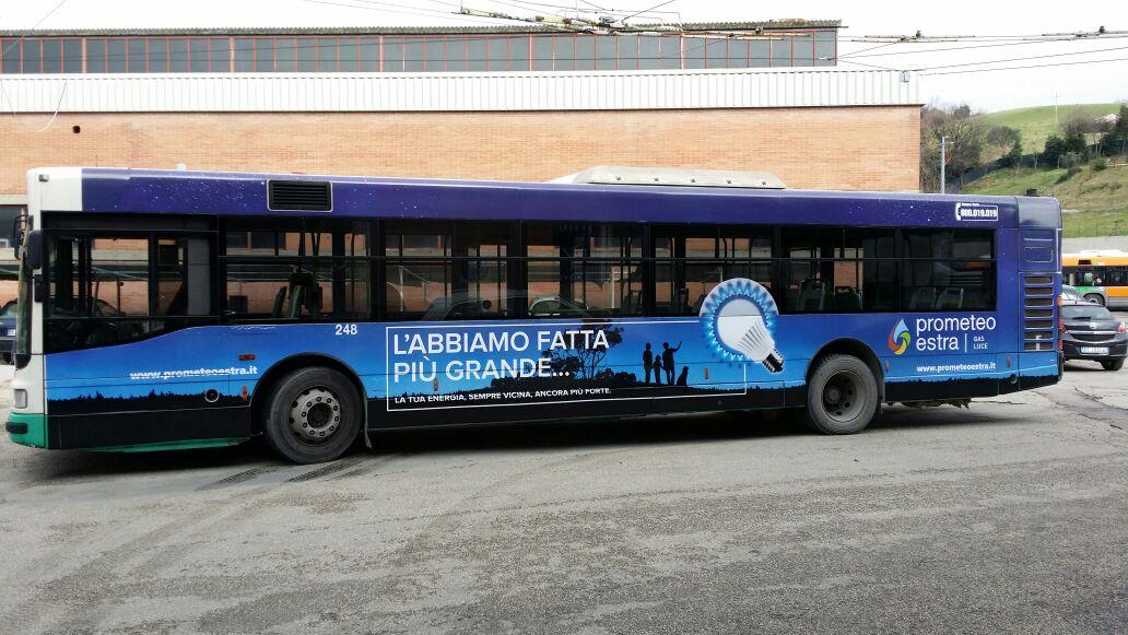 autobus decorato ancona