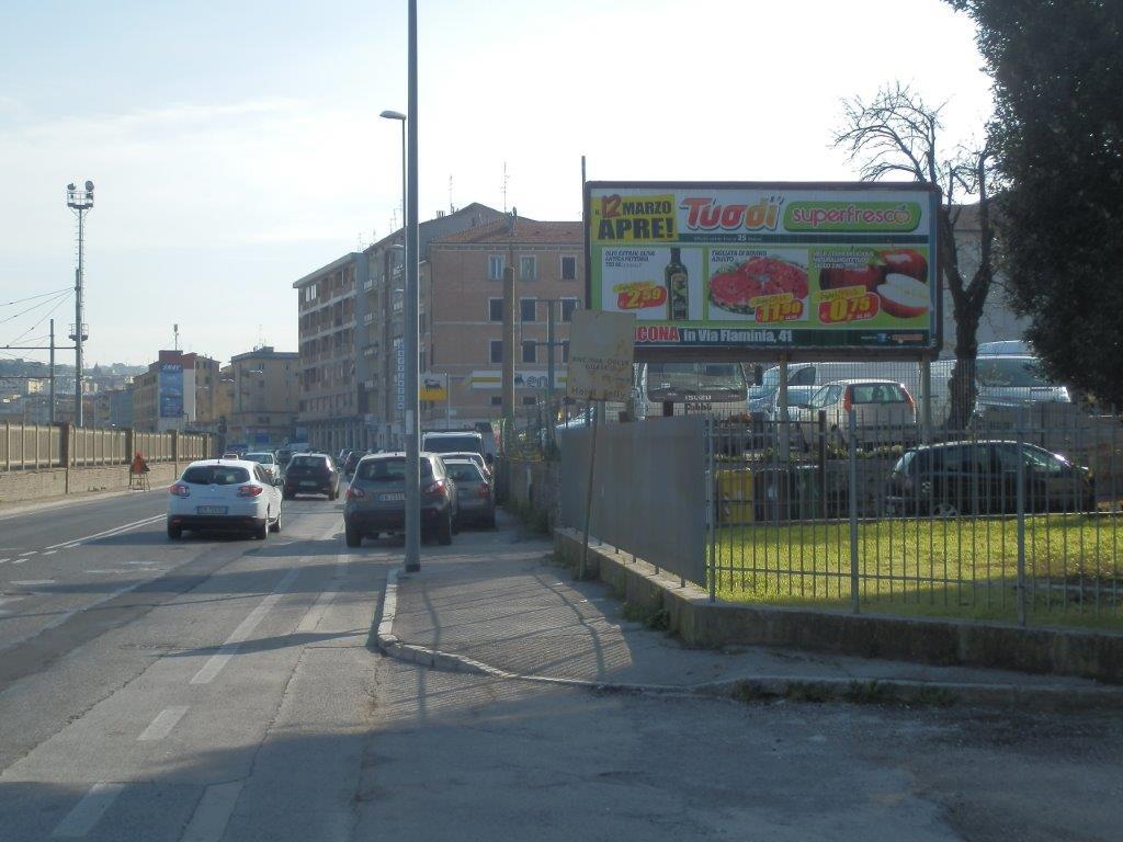 poster 6x3 via flaminia ancona