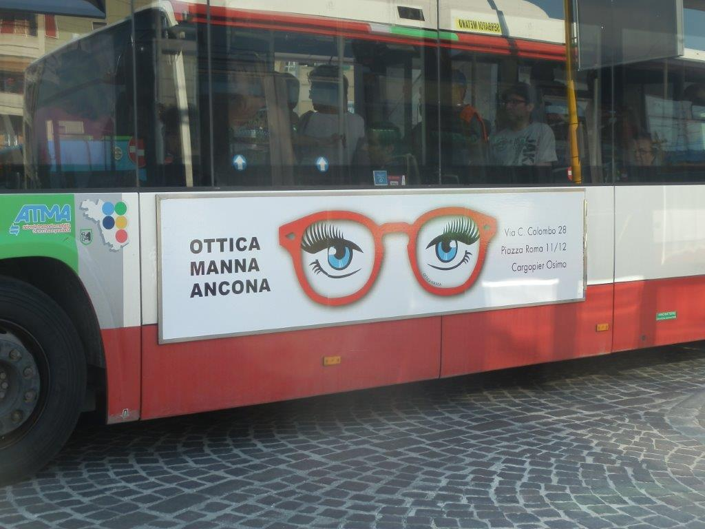 tabellone bus 300x70