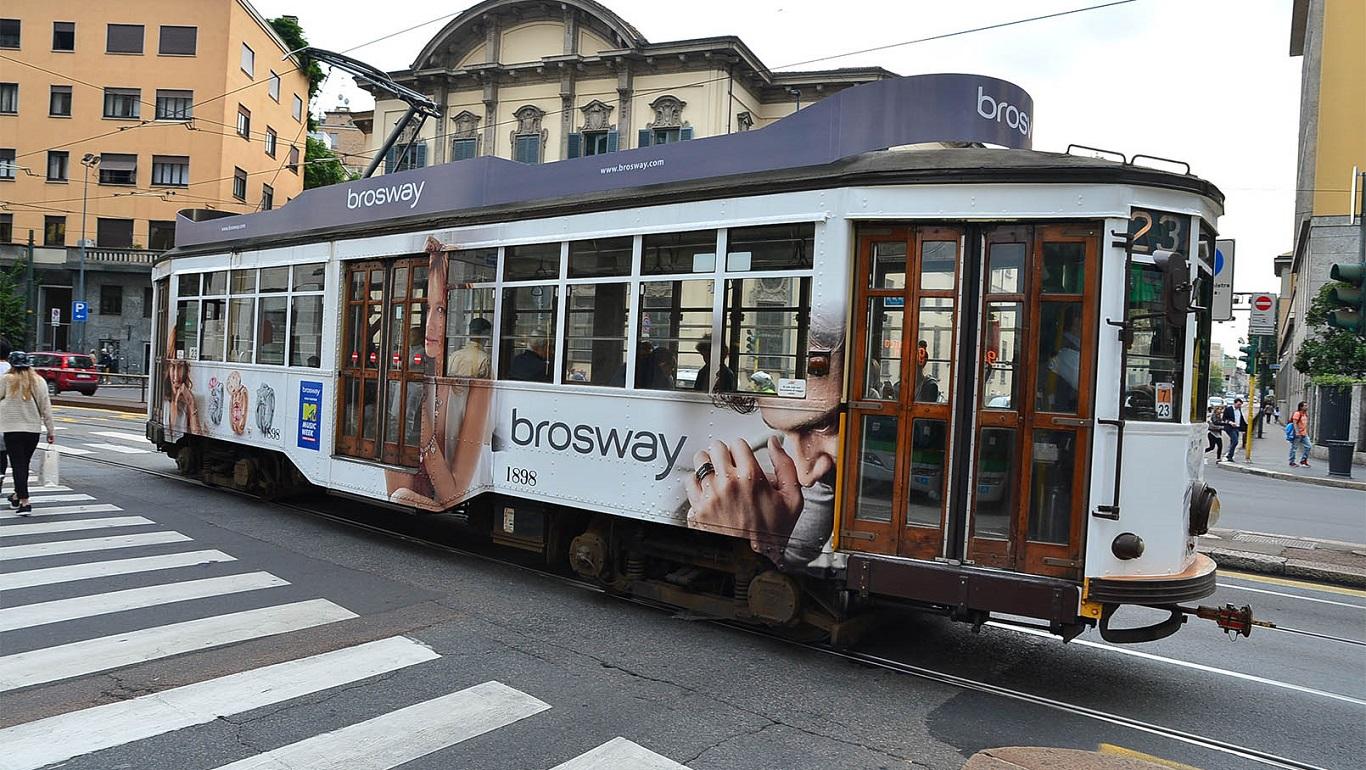 tram classico milano