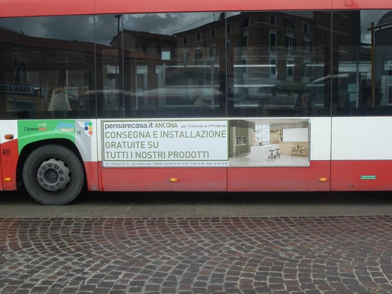 tabella autobus 300x70
