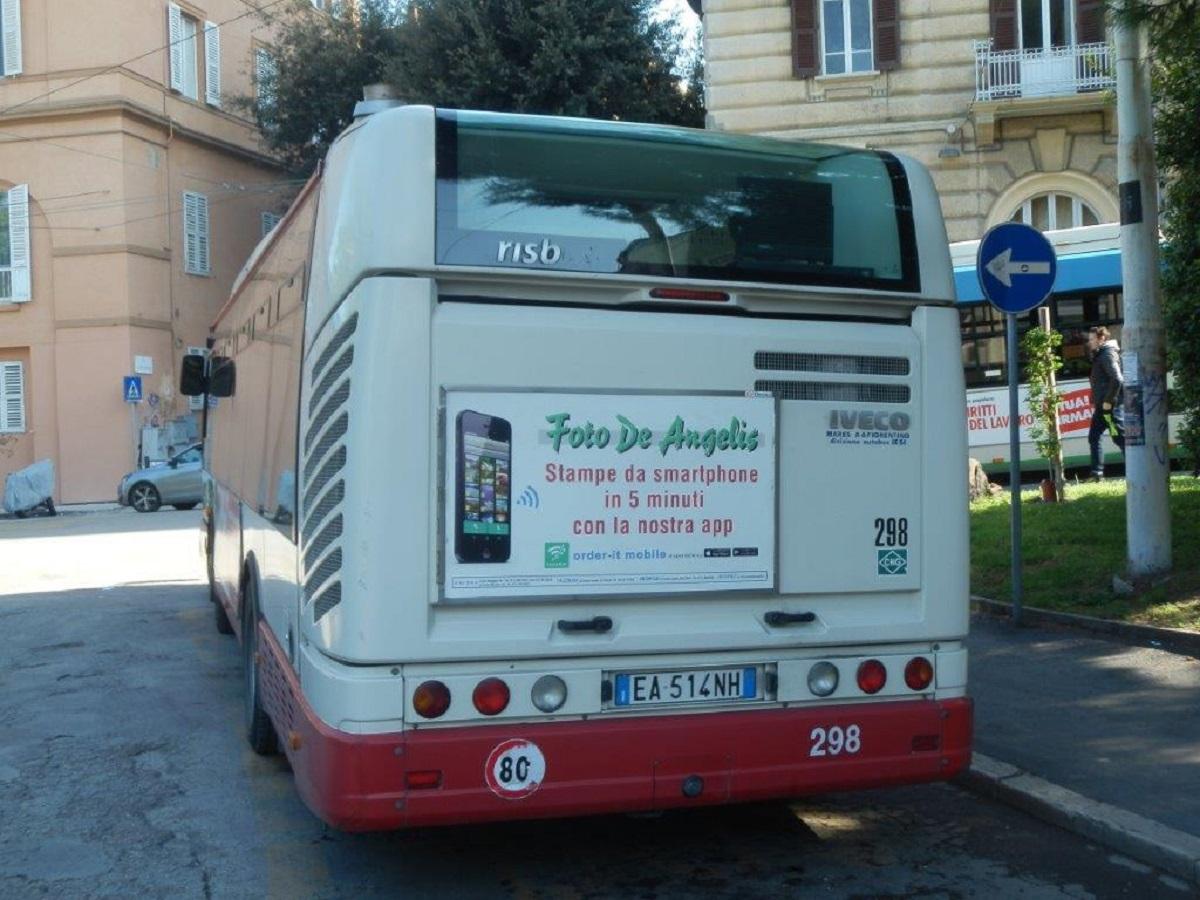 Tabella Posteriore Autobus
