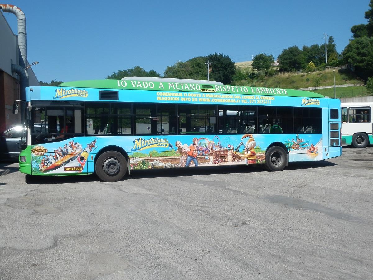 autobus decorato
