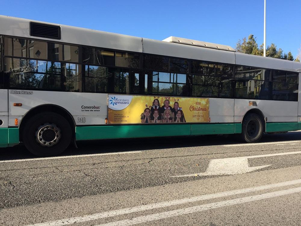 tabella bus laterale 300x70