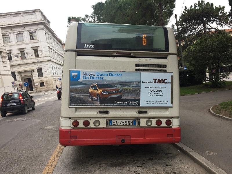 pubblicita autobus ancona