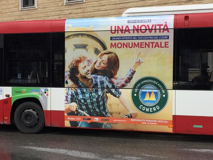 pubblicità negli autobus ancona