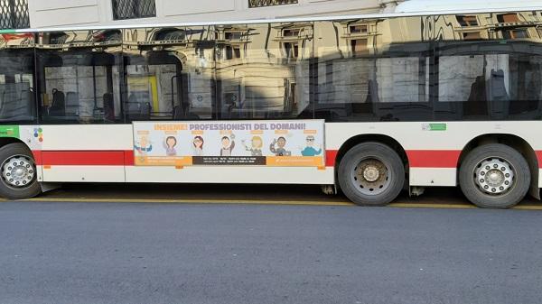 cerchi pubblicità nei bus nelle Marche?