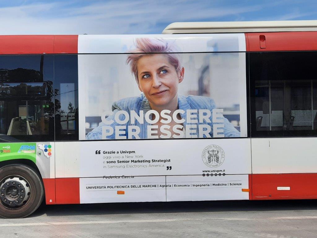 libenzi per la pubblicità nei bus