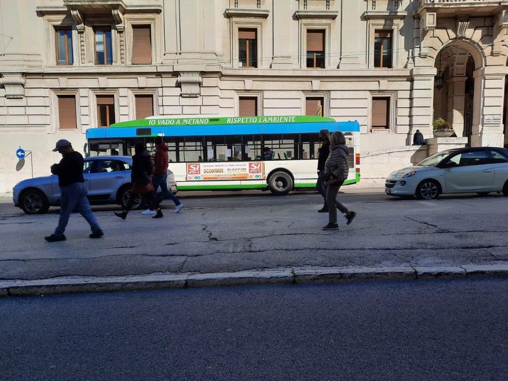 pubblicità bus area marche