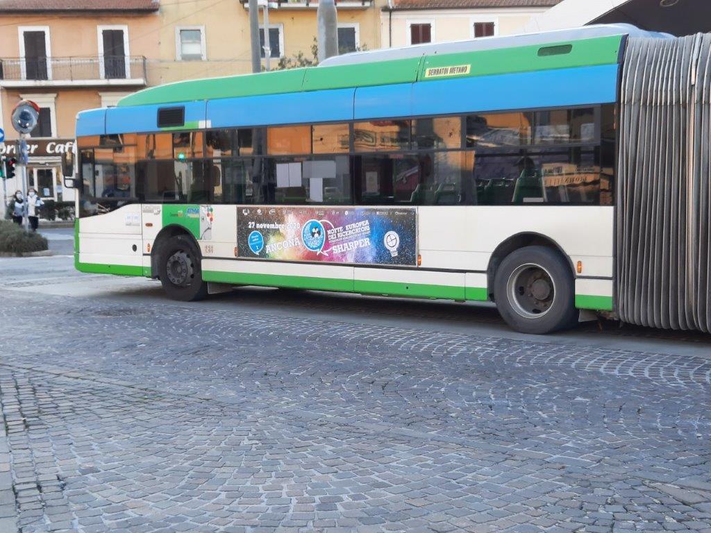 libenzi ancona pubblicità autobus