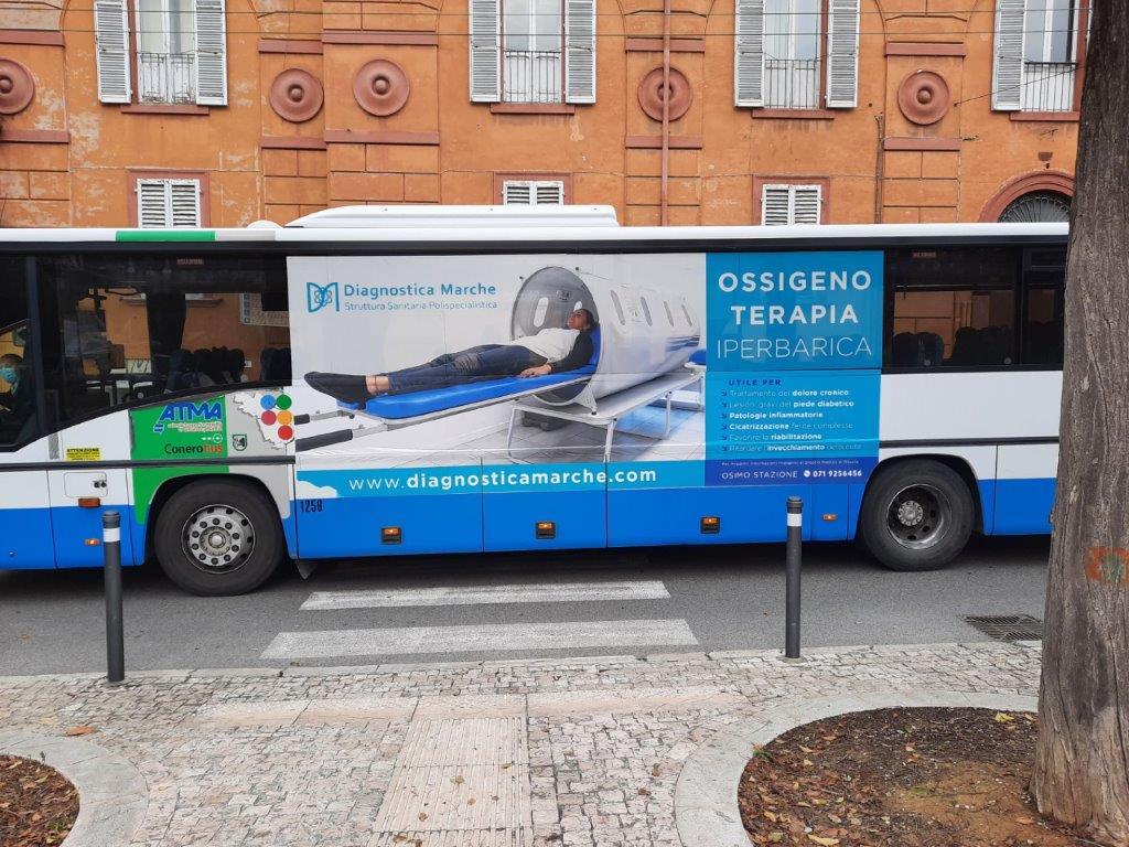libenzi e IGP per pubblicità negli autobus